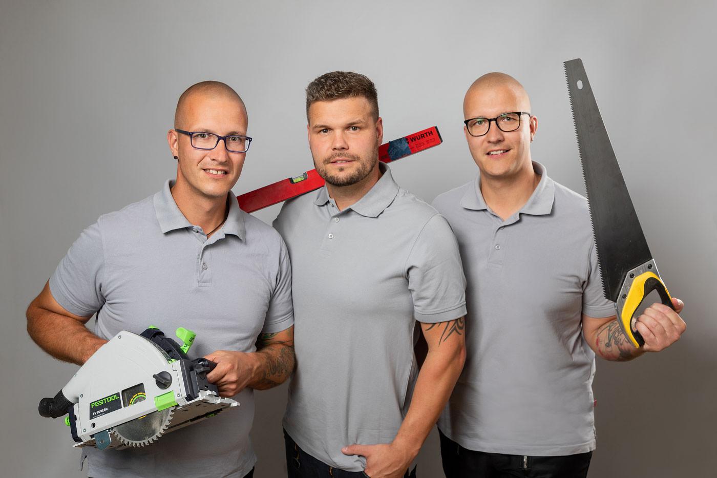 Handwerker der JMN Tischlerei GbR - Meisterbetrieb in Bergen auf Rügen
